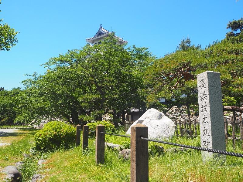 豊公園 長浜城本丸跡……から長浜城歴史博物館