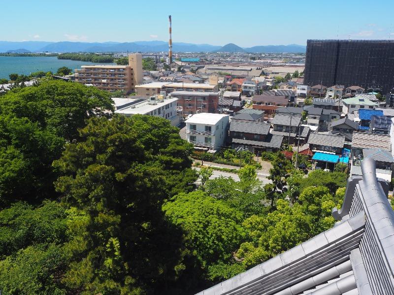 長浜城歴史博物館 5F 望楼 北