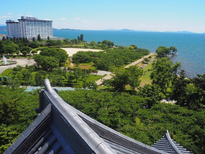 長浜城歴史博物館 5F 望楼 南