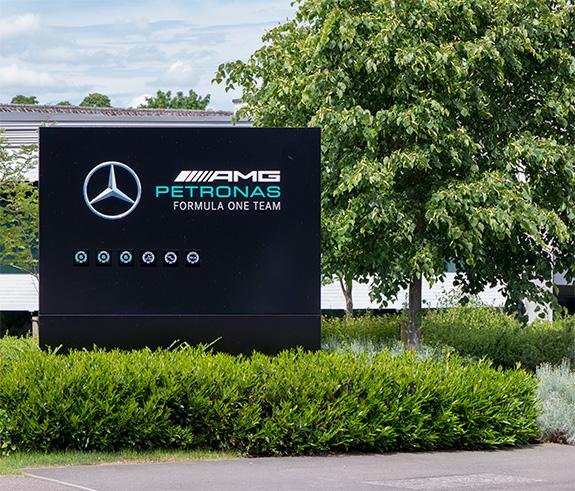 ブラックリー メルセデス・AMG・ペトロナス・モータスポーツ