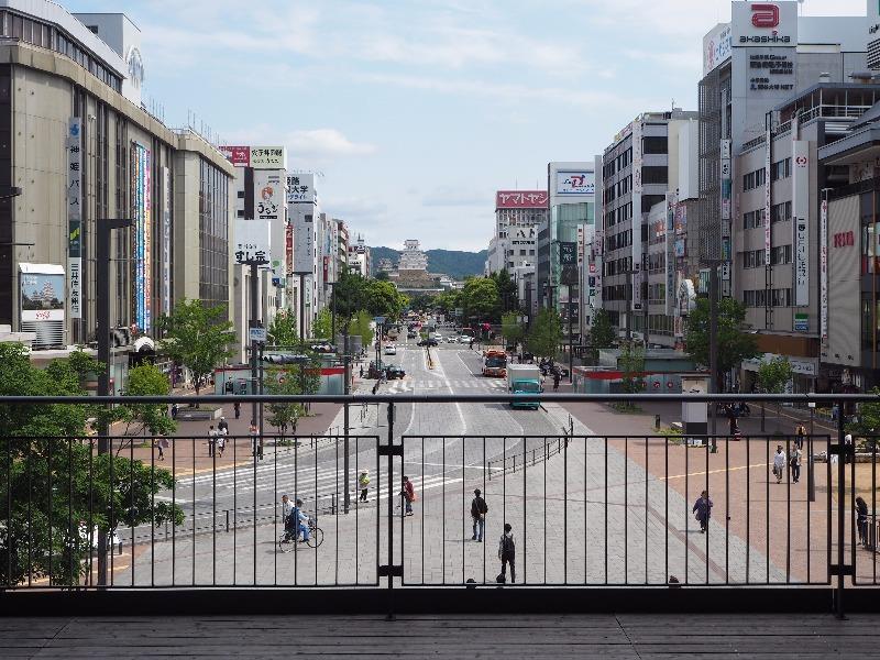 姫路駅 キャッスルビュー(眺望デッキ)