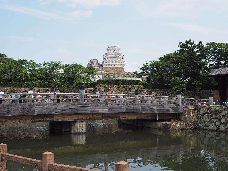 姫路城 大手門 桜門橋