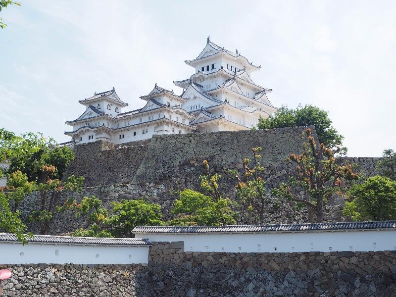 姫路城 三国堀