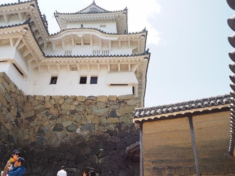姫路城 油壁