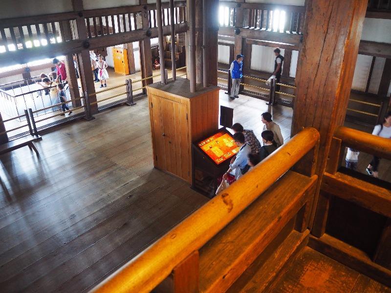 姫路城 大天守 三階