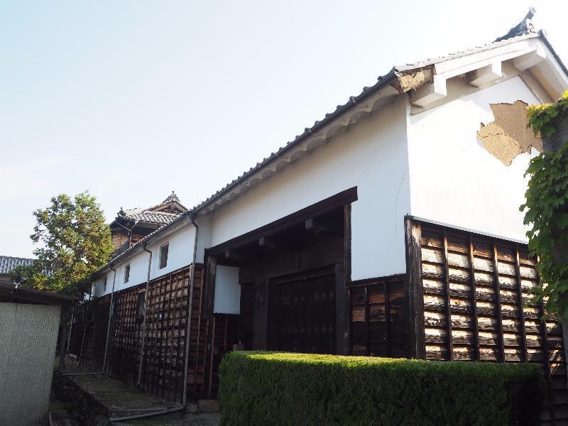 中山道 大井宿 長屋門