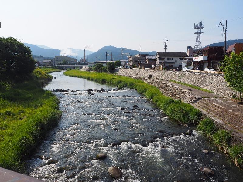 中山道 大井宿 大井橋……から恵那山
