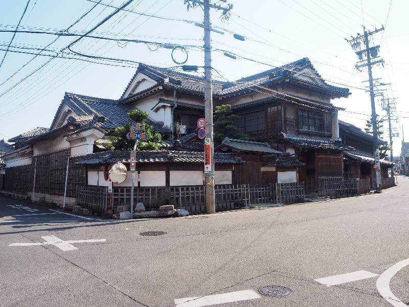 中山道 赤坂宿 四ツ辻(枡形)矢橋家住宅