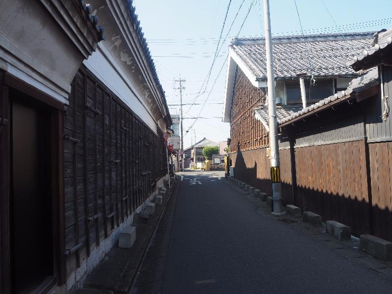 中山道 赤坂宿 四ツ辻(枡形)養老街道