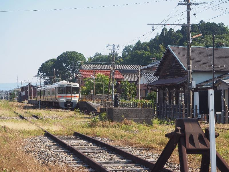 中山道 赤坂宿 JR美濃赤坂駅 313系 クハ312形(1)