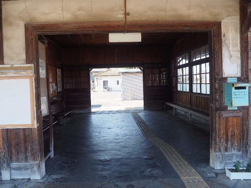 中山道 赤坂宿 JR美濃赤坂駅 駅構内