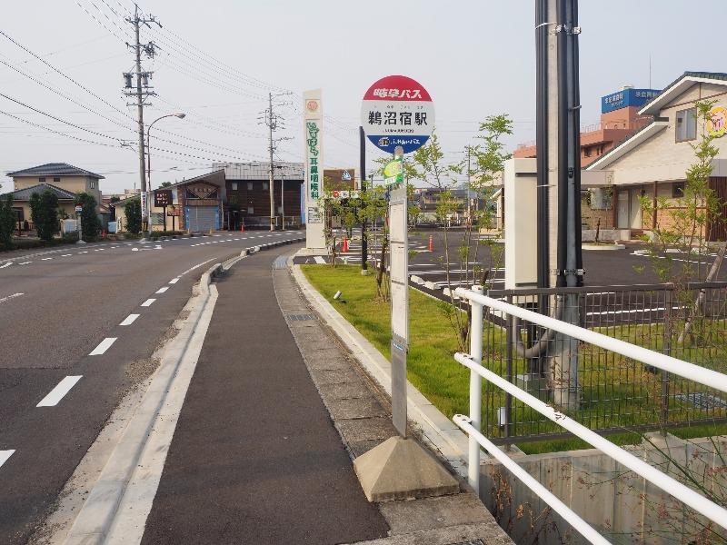 名鉄 鵜沼宿駅 岐阜バス「鵜沼宿駅」バス停