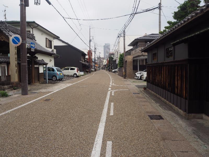 中山道 加納宿 専福寺