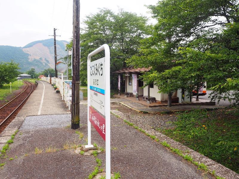 樽見鉄道 谷汲口駅(往路)