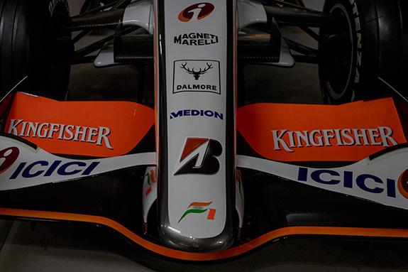 Force India VJM01 2008 フォース・インディア