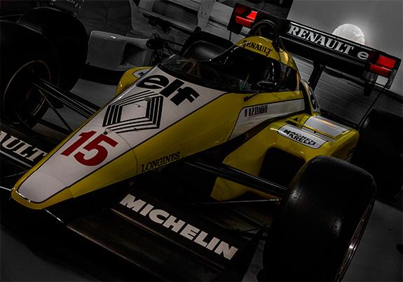 ルノー Renault RE50 1984