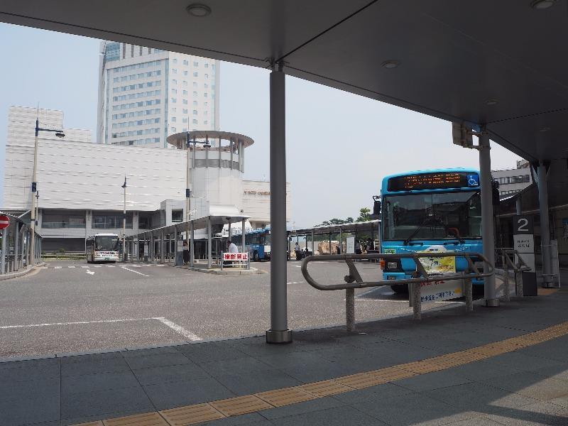 高松駅 高松駅前バスターミナル