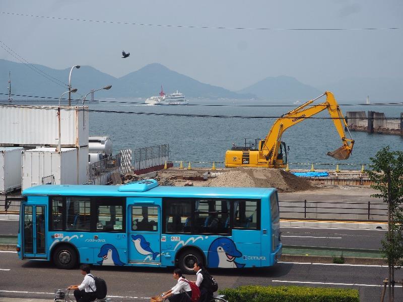 高松港 小豆島フェリー オリーブライン ことでんバス