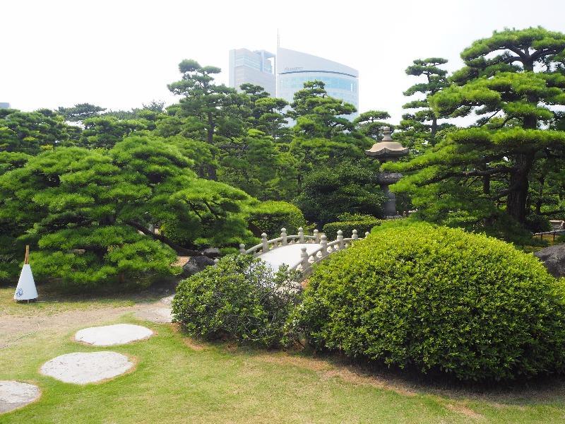 玉藻公園 (史跡高松城跡) 披雲閣(旧松平家高松別邸)庭園