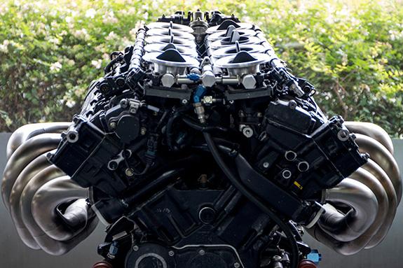 MUGEN 無限 M-TEC MF351H MF-351H F1 Fottwork FA13 Engine
