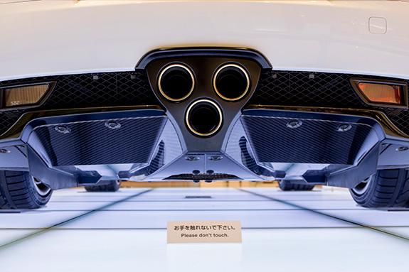 Lexus LFA レクサス フラットボトム 空力 ディフューザー