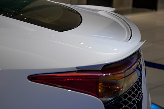 Lexus LFA レクサス 空力