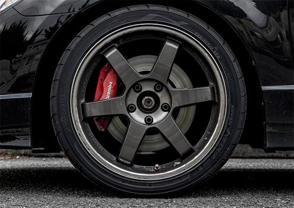 FD2 Honda Civic Type R ホンダ・シビック・タイプR YOKOHAMA ADVAN NEOVA AD08R ヨコハマ・アドバン・ネオバ