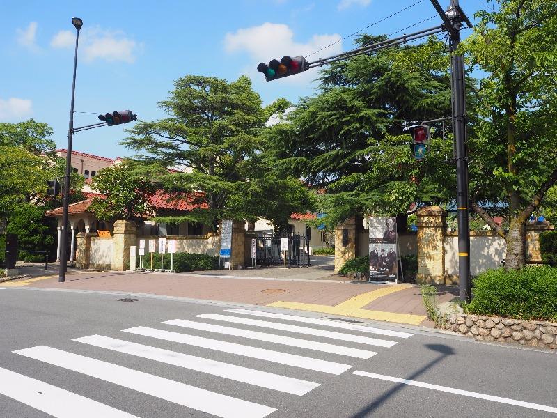 関西学院大学 西宮上ケ原キャンパス 正門