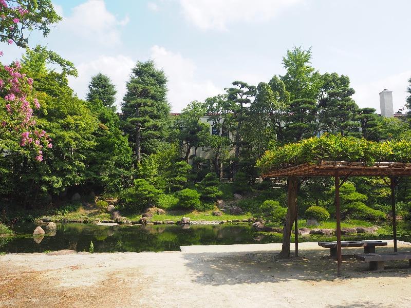 関西学院大学 西宮上ケ原キャンパス 日本庭園