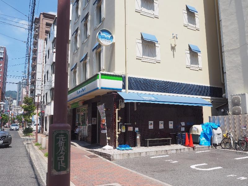 元町パークロード ファミリーマート みなと元町駅前店(2017年)