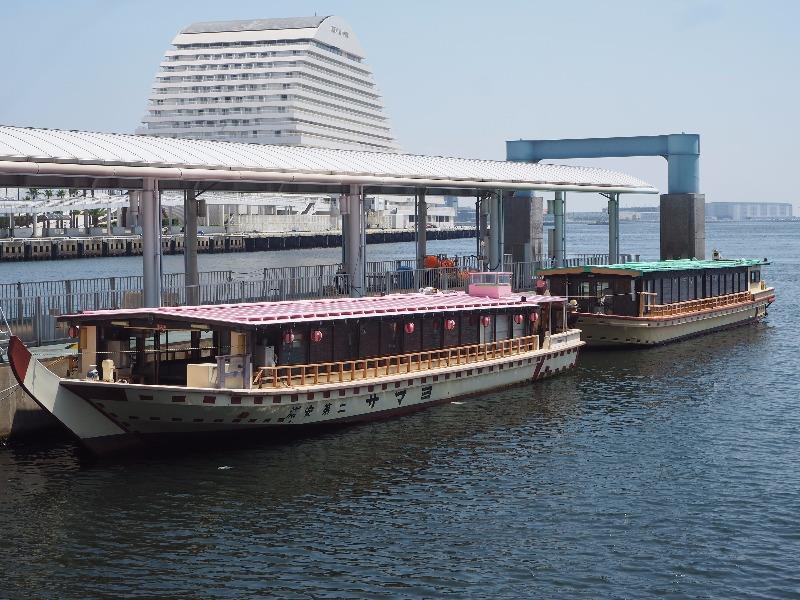 かもめりあ 神戸屋形観光汽船 屋形船