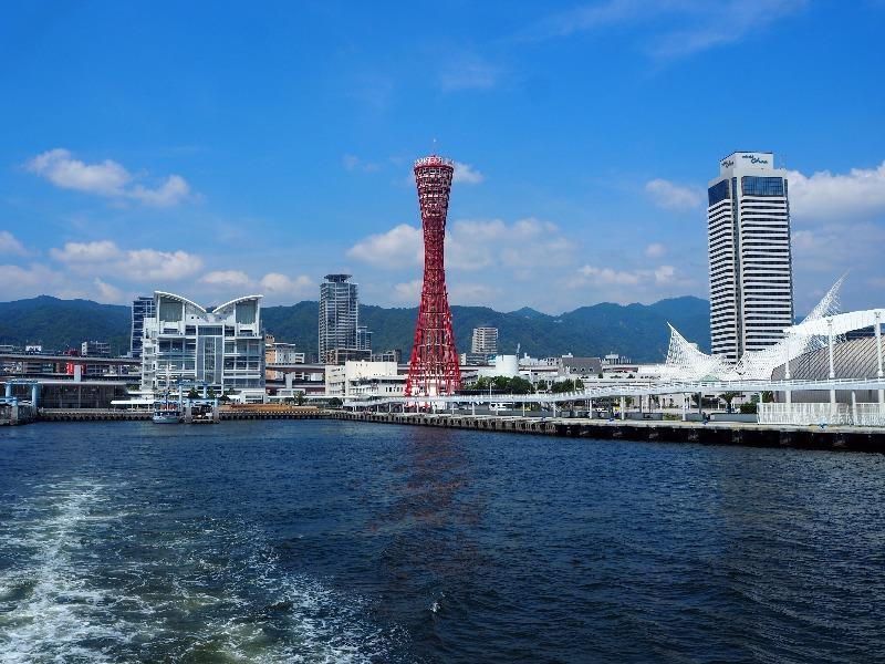 神戸ベイクルーズ ロイヤルプリンセス号 中突堤・メリケンパーク(ポートタワー)