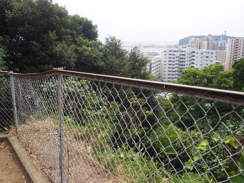 龍口寺 龍口山 高台