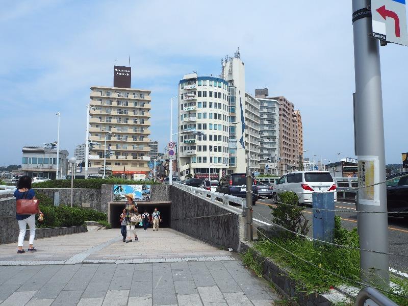 「江の島入口」交差点