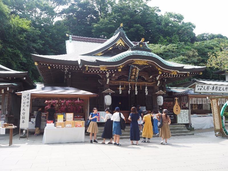 江の島 江島神社(辺津宮)