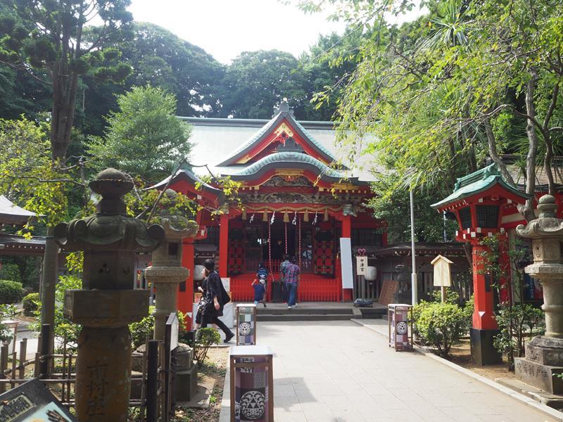 江の島 江島神社(中津宮)