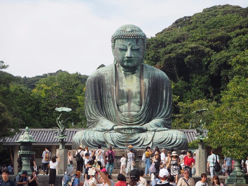 高徳院 鎌倉大仏 正面