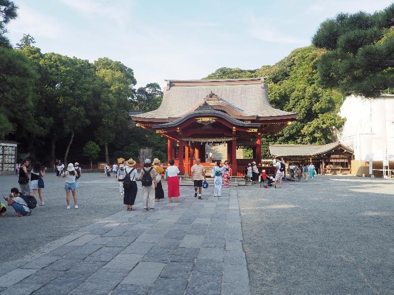 鶴岡八幡宮 舞殿