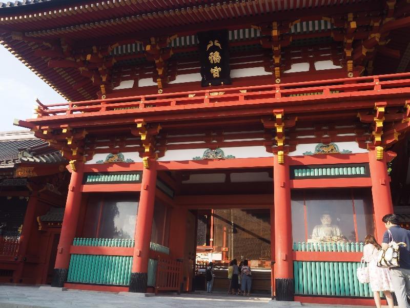 鶴岡八幡宮 楼門 本宮(上宮)