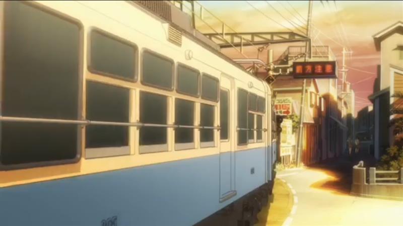 きみの声をとどけたい 電車