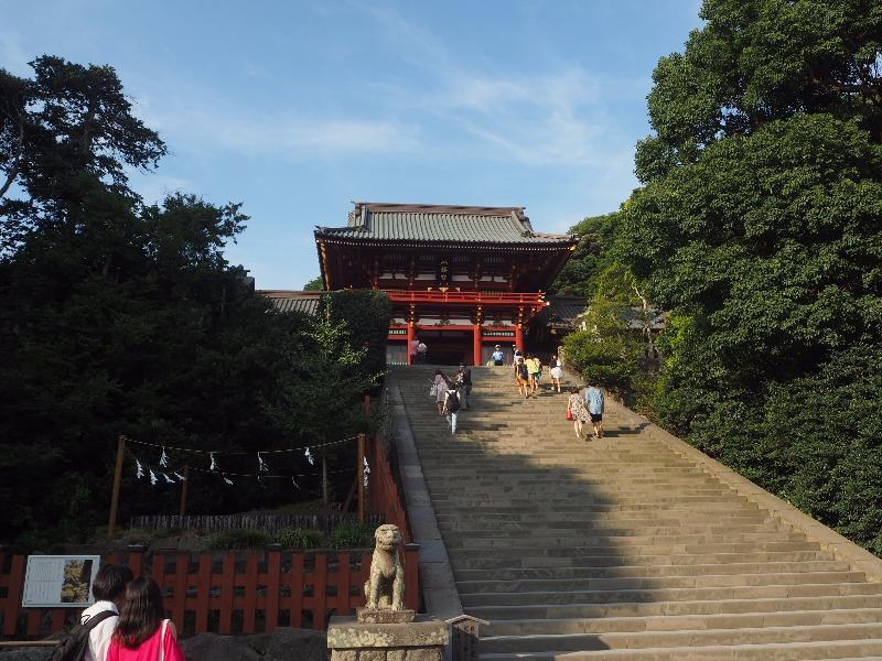 鶴岡八幡宮 大石段