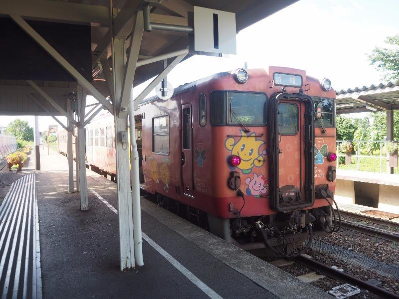 城端駅 キハ47形(2)
