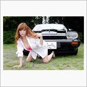 Riyoko Takagi & Jaguar XJS