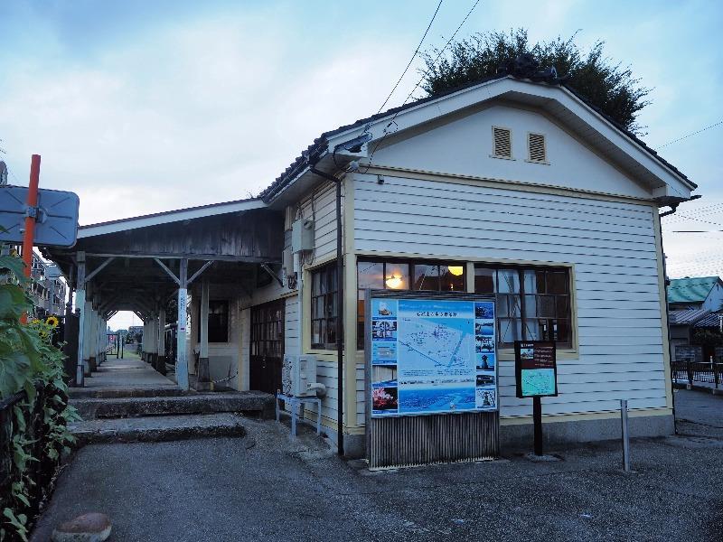 富山ライトレール 東岩瀬駅 旧東岩瀬駅舎