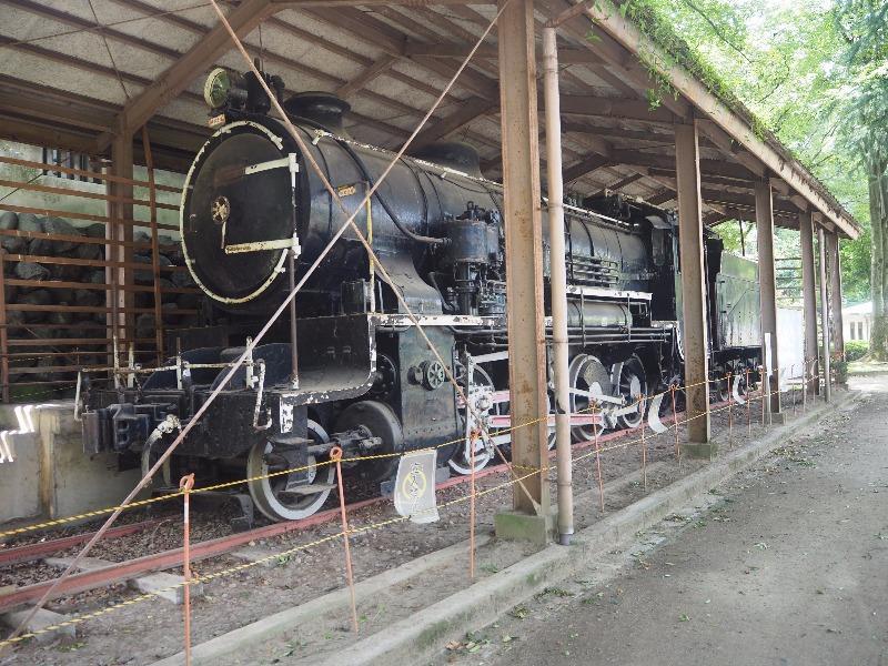 富山城址公園 高山本線 9600形蒸気機関車