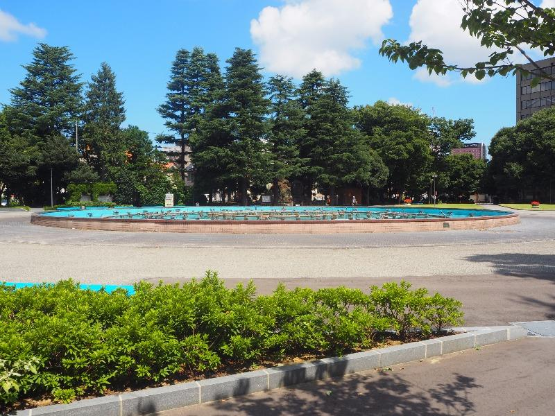 県庁前公園 噴水