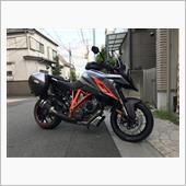 """""""KTM 1290スーパーデュークジーティー""""の愛車アルバム"""