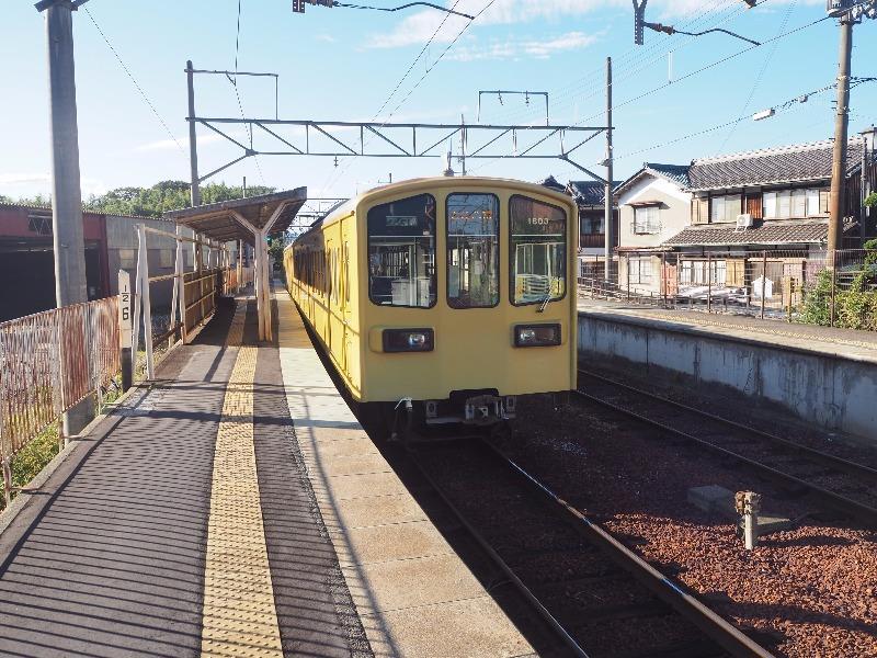 近江鉄道 武佐駅 800系電車