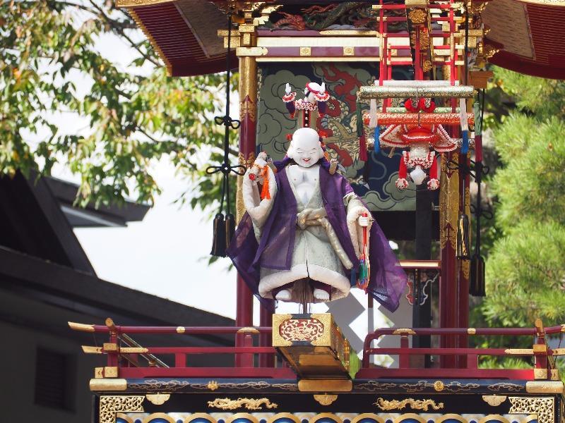 櫻山八幡宮 からくり奉納 布袋様、唐子(1)