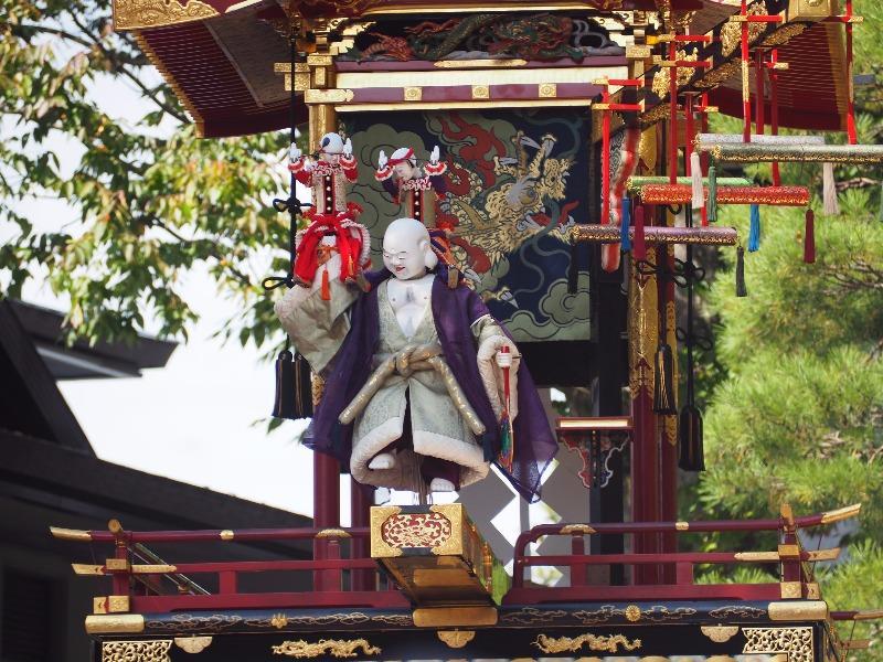 櫻山八幡宮 からくり奉納 布袋様、唐子(2)